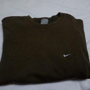 Vintage Nike Olive green crew neck